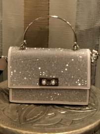 DIAMANTE BAG BEIGE