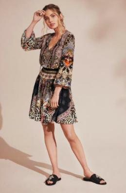 Camilla International - Marais short dress