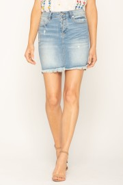 MISS ME DENIM SKIRT