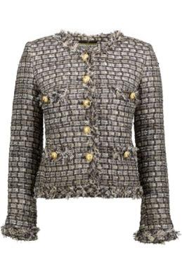 Maruschka De Margo - Tweed Jcaket Grey Luxe