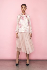 IDA SJÖSTEDT | FLAWLESS TULL SKIRT DUSTY PINK