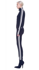 NORMA KAMALI | SIDE STRIPE JOG PANTS
