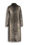 BEAUMONT | FAUX FUR LONG COAT | CHEETAH SOFT
