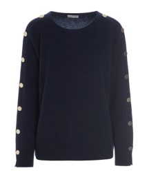 DEA KUDIBAL SINE CASHMERE SWEATER | DARK NAVY