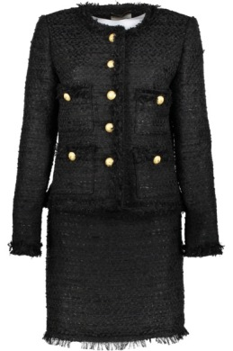 Maruschka De Margo - Tweed Jacket and Skirt Black