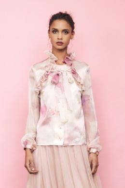 Ida Sjöstedt - Flawless tull Pink skirt