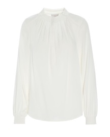 DEA KUDIBAL FAITH STRETCH SILK TUNIC | WHITE