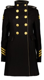 HISTORY REPEATS COAT GUILDED BUTTONS SHORT