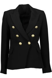 PARIS PICKED BLACK BLAZER
