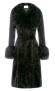 CHARLOTTE SIMONE PENNY COAT | BLACK