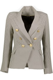 PARIS PICKED HOUNDSTOOTH BLAZER