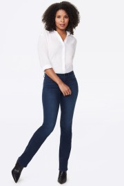 NYDJ STRAIGHT STRETCH JEANS | MARILYN CITY