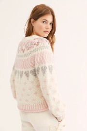 LOVESHACKFANCY JAMIE CARDIGAN | MILKY CLOUDS
