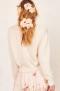 LOVESHACKFANCY JASMIN PULLOVER | WHITE
