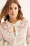 LOVESHACKFANCY JAMIE CARDIGAN | MILKY CLOUDS