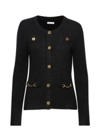 IDA SJÖSTEDT |  NOBLE CARDIGAN | BLACK
