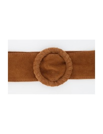 PARIS PICKED SUEDE BELT