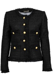 MARUSCHKA DE MARGO TWEED BLACK GOLD