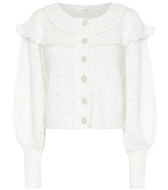 LOVESHACKFANCY HAYDEN CARDIGAN | CREAM