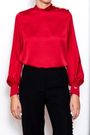 LA CONDESA MARTALIS SHIRT | RED