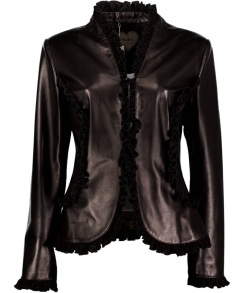 RUFUS BLACK LEATHER JACKET