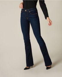 7 FOR ALL MANKIND BOOTCUT B(AIR) RINSED INDIGO WOMENS JEANS