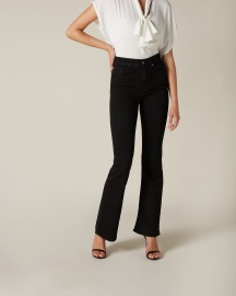 7 FOR ALL MANKIND LISHA SLIM EVOLUTION POSSESSED JEANS | BLACK