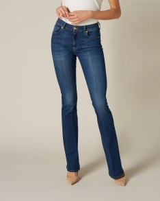 7 FOR ALL MANKIND LUXURIOUS B(AIR) DUCHESS BOOTCUT WOMENS JEANS