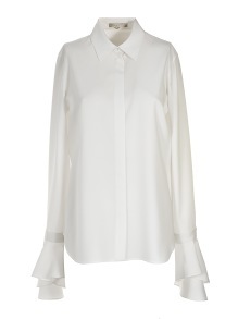 MANTU RUFFLE SLEEVE BLOUSE