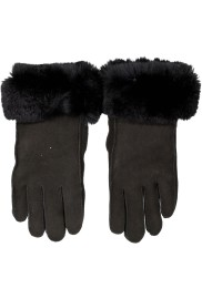 HANDMADE SHEEPSKIN GLOVES WITH REX CUFFS