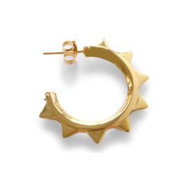 CHARLOTT VASBERG LIBERTY HOOPS GOLD