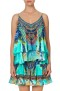 CAMILLA  SILK DOUBLE LAYERED CAMI | REEF WARRIOR