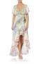 CAMILLA FRILL SLEEVE LONG DRESS | BEACH SHACK