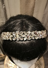 PARIS PICKED SWAROVSKI CRYSTAL TIARA