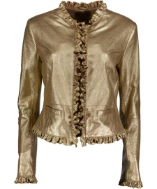 RUFUS GOLD LEATHER JACKET