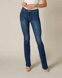 7 FOR ALL MANKIND LUXURIOUS B(AIR) DUCHESS BOOTCUT WOMENS DENIM