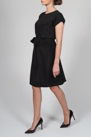 VESNA W SILK NATHALIE DRESS BLACK