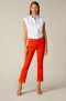 7 FOR ALL MANKIND CROPPED BOOT SLIM ILLUSION RED