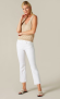 7 FOR ALL MANKIND CROPPED BOOT SLIM ILLUSION PURE WHITE