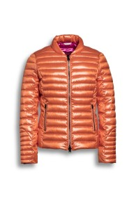 BEAUMONT CHANGEANT JACKET ORANGE