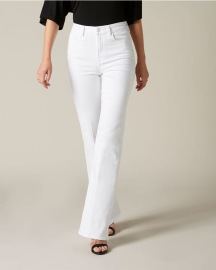7 FOR ALL MANKIND LISHA SLIM ILLUSION PURE WHITE