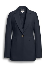 BEAUMONT LONG BLAZER NAVY