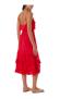 MELISSA BETHAN FRILL MAXI DRESS RED
