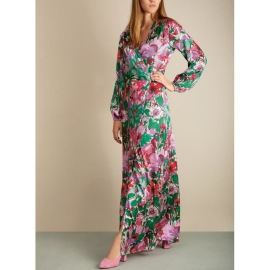DEA KUDIBAL MATHILDE SILK EXCLUSIVE DRESS SUNFLOWER ROSE