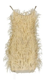 PARIS PICKED PARTY DRESS FROM FEATHERS | NUDE