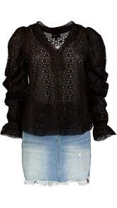 RAVN BRODERIE ANGLAISE BLOUSE