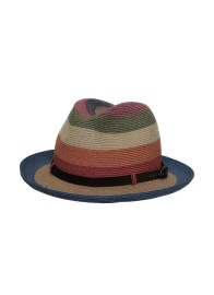 GREVI MULTI TONAL STRAW HAT