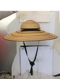 GREVI MULTI NATURAL BRILLIANCE STRAW HAT SUNNY