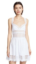 CHARO RUIZ MARILYN LACE MINI DRESS