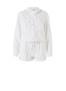 MELISSA ODABASH HONOUR WHITE PLAYSUIT